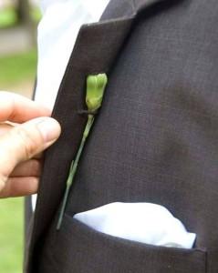 цветок в петлице